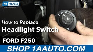 Nonton How To Replace Install Headlight Switch 2013 Ford F250 Film Subtitle Indonesia Streaming Movie Download