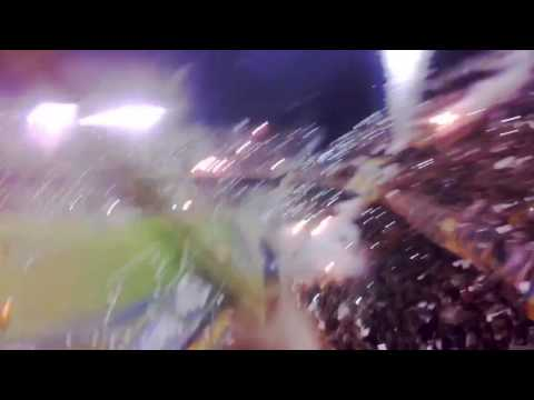 Impresionante recibimiento - Los Guerreros - Rosario Central