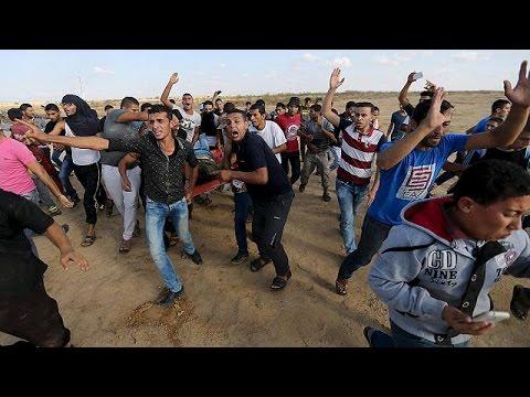 Γάζα: Σοβαρά επεισόδια με θύματα, στα σύνορα με το Ισραήλ