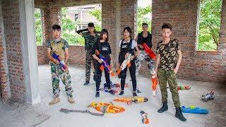 Video 3T Nerf War : Squad Alpha Nominee Soliders Nerf guns Fight with Criminals Counterfeit Money MP3, 3GP, MP4, WEBM, AVI, FLV Januari 2019