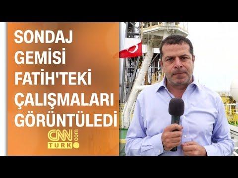 Video - Το CNN Turk κάνει ρεπορτάζ πάνω στο γεωτρύπανο Φατίχ στην Κυπριακή ΑΟΖ [Βίντεο]