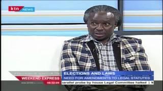 KTN Weekend Express Election And Laws With Psychiatrist Machanga Mareko 16 July 2016