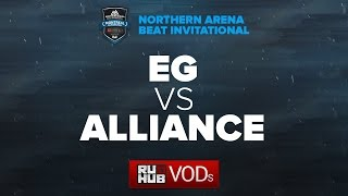 Evil Geniuses vs Alliance, NA Arena Beat Invitational, game 1 [Lex, 4ce]