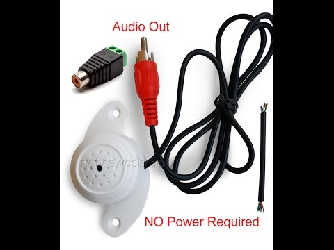 How to Configure a Hikvision IP camera to enable Audio when a Mic is connected