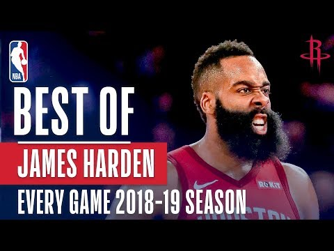 Video: James Harden's Best Play From Every Game Of The 2018-19 Season