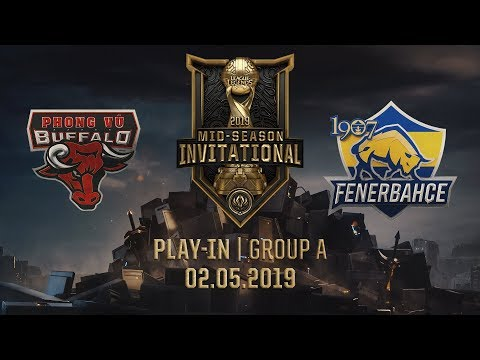 PVB vs FB [MSI 2019][02.05.2019][Group A][Play-in] - Thời lượng: 1:04:22.