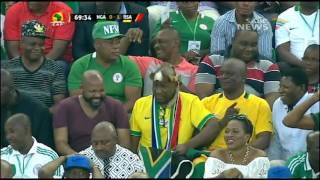 South Africa's national teams are on a roll...so far it is 2 out of 3 as Bafana Bafana beat the Super Eagles of Nigeria 2-NIL in an Africa Cup of Nations qua...
