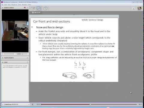 Vehicle Sectional Design: Theory and Applications of Ground Vehicle Aerodynamics