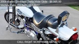 8. 2004 Harley-Davidson Dyna Wide Glide FXDWG for sale in Wichi