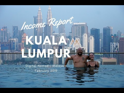 Income, Expenses and Travel Report from Kuala Lumpur -  February 2019