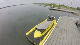 2. 2004 SeaDoo GTX 185 Supercharged 4 tec Startup and Run in Niagara River