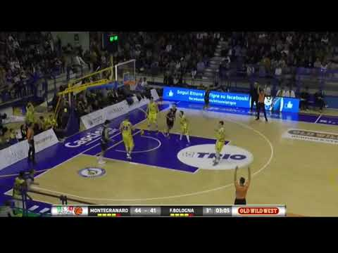 Fortitudo, gli highlights del match contro Montegranaro