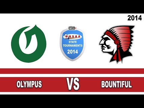 school - 4A Boys Basketball: Olympus vs Bountiful Utah High School State Tournament 3/7/14.