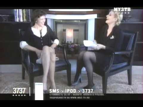 Рената Литвинова берёт интервью у Милы Йовович