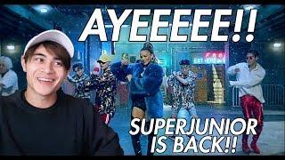 "Video SUPERJUNIOR ""Lo Siento"" ft. Leslie Grace Reaction!! [THEY ARE BACK!!] MP3, 3GP, MP4, WEBM, AVI, FLV April 2018"