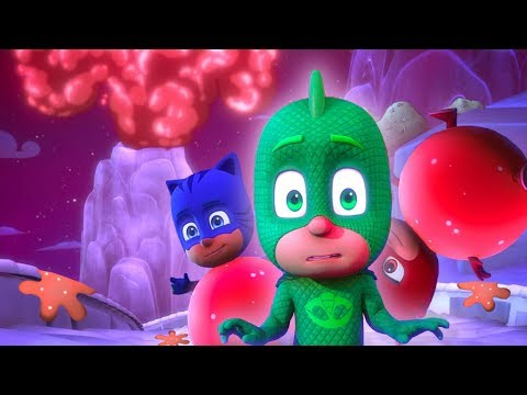 Pj Masks Full Episodes 🌋pj Masks Sticky Splatcano! 🌋mystery Mountain 🌋superhero Cartoons For Kids