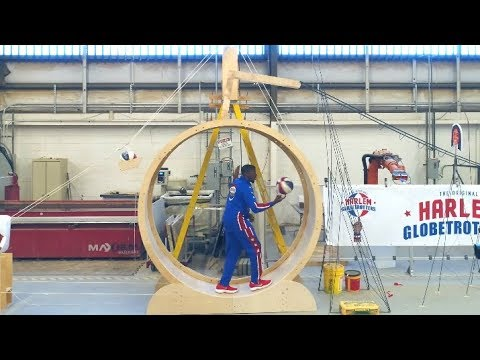 Rube Goldberg Harlem Globetrotters Video