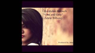 Quratulain Balouch - One and Only (Adele Tribute)