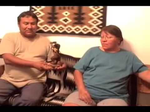 Navajo Skinwalker Folk Art Carving Video