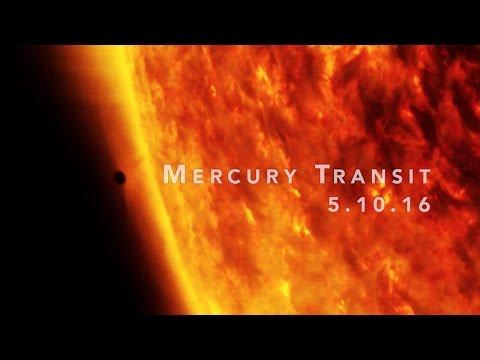 Mercury Transit 2016 (Credit NASA Goddard; YouTube video)