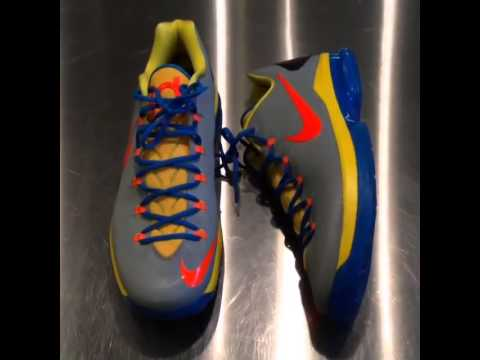 0 Nike KD V Elite OKC Alternate PE