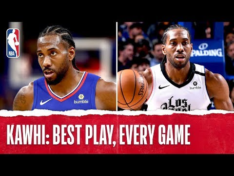 Kawhi Leonard's Best Plays From Every Game!