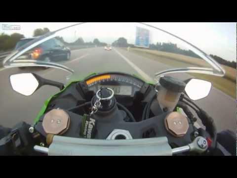 Zx-10 vs Audi RS6 ABT