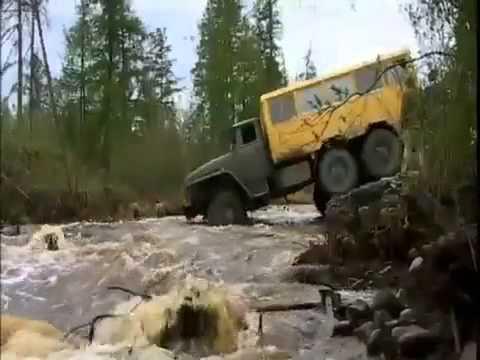 Русская техника — дороги почти не нужны!