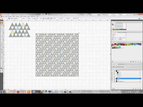 Illustrator Tutorial: How To Rotate And Scale A Pattern