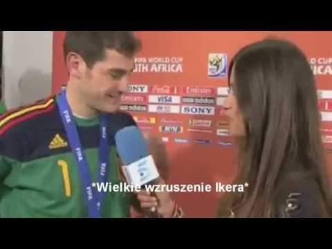 Iker Casillas w wywiadzie dla swojej narzeczonej ! Napisy PL
