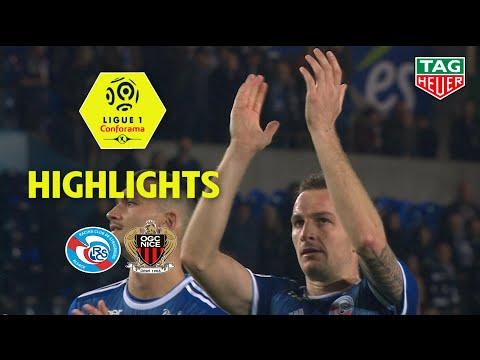 RC Strasbourg Alsace - OGC Nice ( 1-0 ) - Highlights - (RCSA - OGCN) / 2019-20