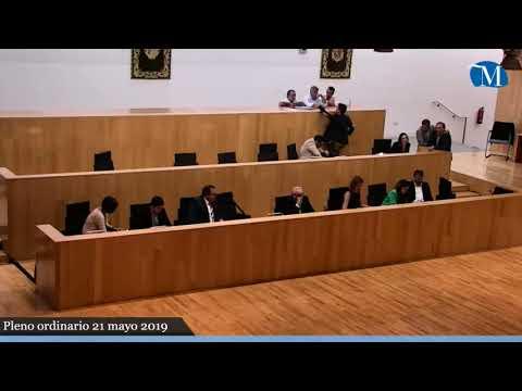 Pleno ordinario de la Diputación correspondiente al mes de mayo