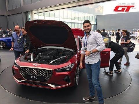 العرب اليوم - تعرف على جينيسيس G70 موديل 2018