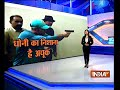 Dhoni practices shooting at Police Training School in Kolkata - Video