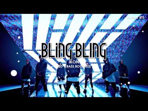 [3D+BASS BOOSTED] iKON (아이콘) - BLING BLING  bumble.bts