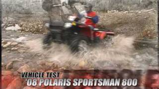 9. ATV Television Test - 2008 Polaris Sportsman 800