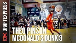 Theo Pinson - 2014 McDonalds All American Dunk Contest - Dunk 3