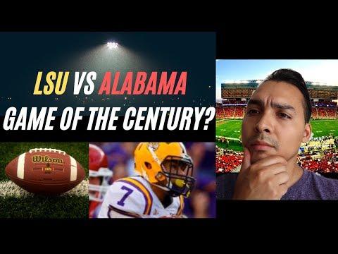 Alabama vs LSU 2019: Game of the Century?