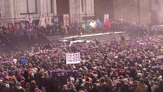 """Video Morte Astori, il coro dei tifosi saluta 'il capitano': """"Uno di noi, Astori uno di noi"""" MP3, 3GP, MP4, WEBM, AVI, FLV Juli 2018"""