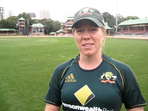 Alex is an Australian Womens Cricketer