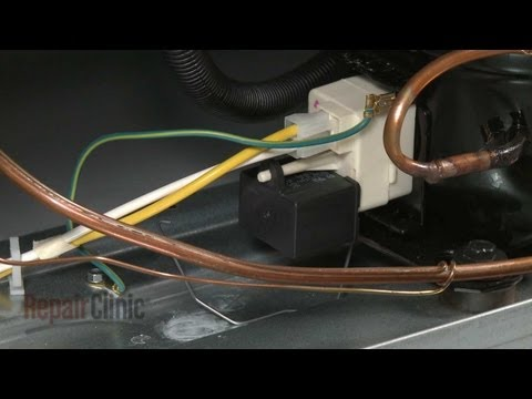 Run Capacitor Replacement (part #216985001) – Frigidaire Upright Freezer Repair