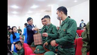 Thành phố Uông Bí: Gặp mặt thanh niên lên đường nhập ngũ năm 2020