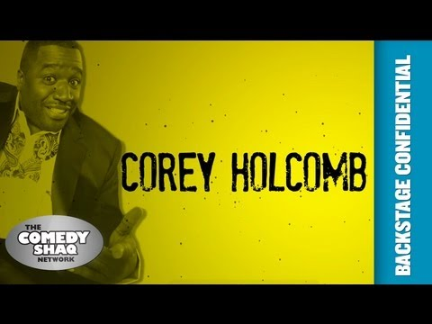 Corey Holcomb⎢Backstage Confidential Up Close and Personal⎢Episode 11⎢Comedy Shaq