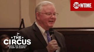 THE CIRCUS co-host Mark McKinnon catches up with Congressman Joe Barton in his home district of Mansfield, Texas where the two discuss how working with President Trump differs from past presidents. McKinnon tags along as the Republican congressman hosts a town hall and takes questions from emotionally-charged and opinionated constituents.Subscribe to THE CIRCUS YouTube channel: https://goo.gl/gfoZtdCome one, come all to THE CIRCUS: INSIDE THE BIGGEST STORY ON EARTH. This documentary series pulls back the curtain on the Trump administration after the 2016 presidential race, revealing the intense, inspiring and infuriating stories behind the headlines. Key characters and events are presented in real time, as they are happening. THE CIRCUS is a non-partisan, never-before-attempted take on one of the most fascinating and consequential political periods in modern American history. THE CIRCUS: INSIDE THE BIGGEST STORY ON EARTH is hosted by New York Times bestselling co-authors Mark Halperin and John Heilemann (Game Change and Double Down). Mark McKinnon returns in a producing role with special guest appearances. The real-time documentary series will follow the circus of American politics, political culture and government – capturing pivotal moments, featuring interviews with key figures, and offering critical analysis of the stories behind each week's headlines.