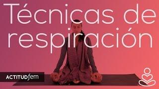 Marian Rojas te enseña una poderosa técnica de respiración para llenarte de mucha energía y relajarte con tan solo respirar unos minutos.