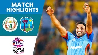 Afghanistan Stun Windies In Thriller! | Afghanistan vs West Indies | ICC Men's #WT20 - Highlights