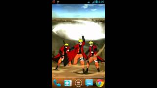 Rasen Shuriken Live Wallpaper YouTube video