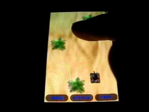 Video of Aggredior Tank Game