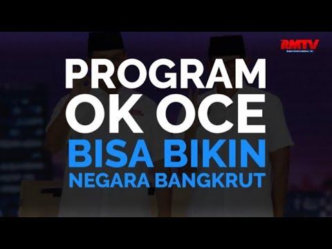 Program OK OCE Bisa Bikin Negara Bangkrut