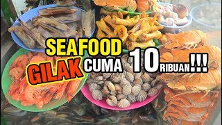 Video GILAK CUMA 10 RIBU !!! SEAFOOD GEROBAK PINGGIR JALAN MP3, 3GP, MP4, WEBM, AVI, FLV Januari 2019